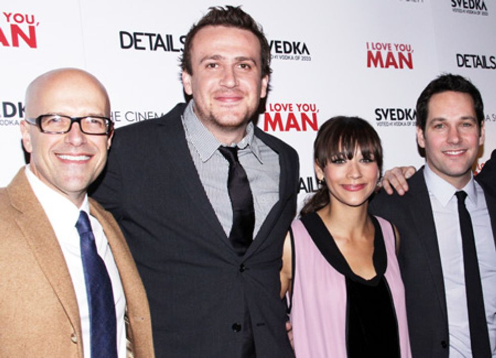 About Last Night... The Cinema Society Hosts a Screening and After-Party for I Love You Man, Sponsored by SVEDKA Vodka