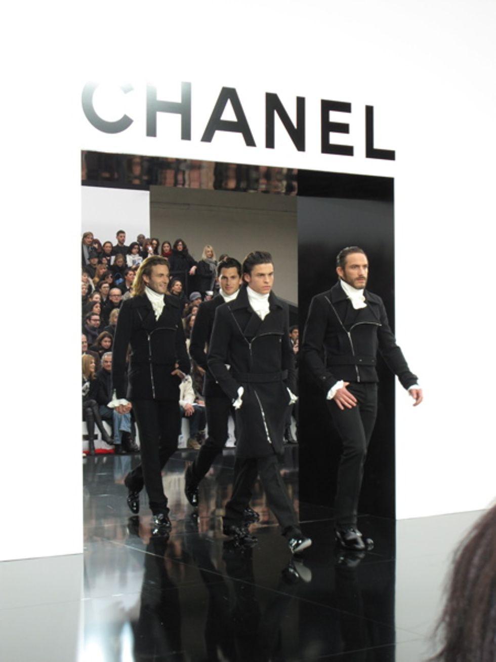 Mr. Mickey Is a Chanel Man