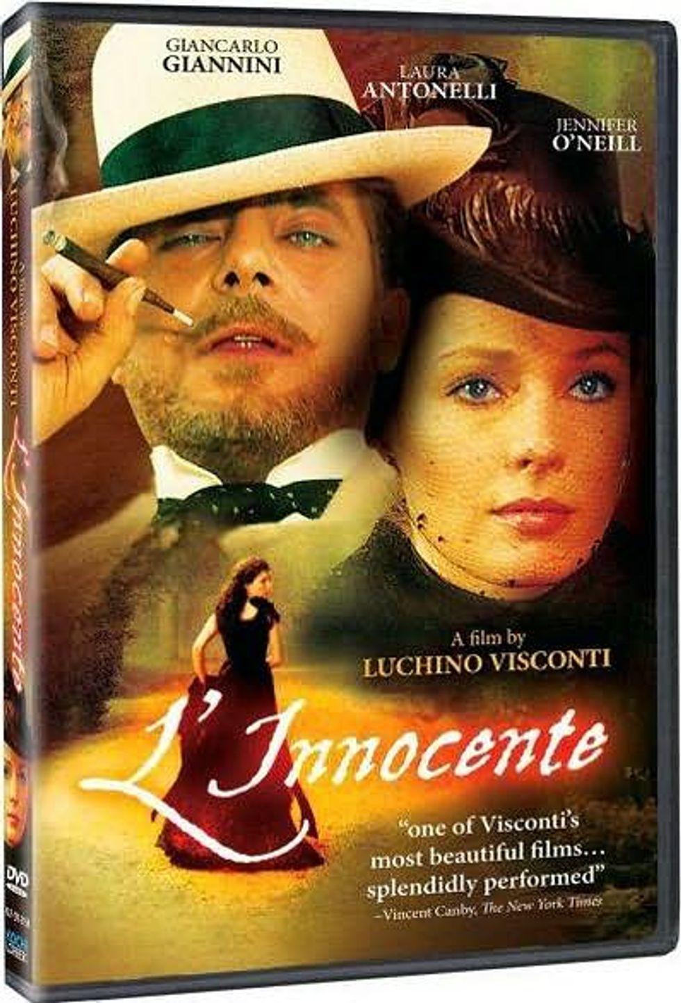 Luchino Visconti's L'Innocente On DVD!