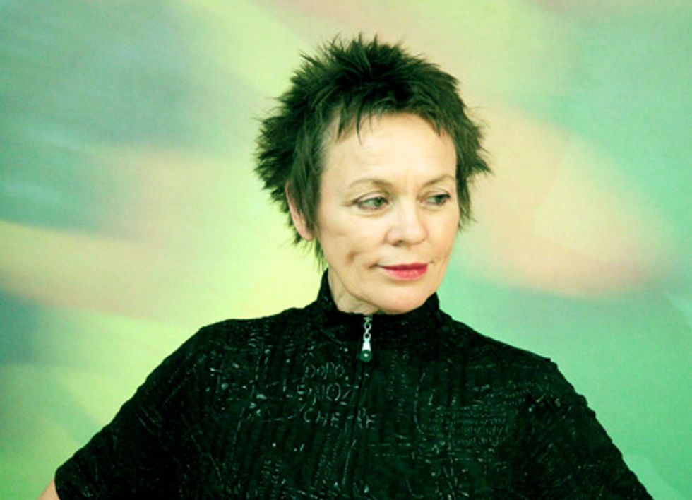 """Laurie Anderson Tells """"Some Stories"""" at the Guggenheim"""