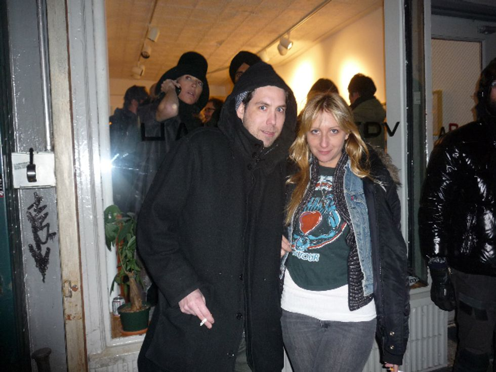 Chrissie Miller's Saturday Night at Half Gallery with Leo Fitzpatrick