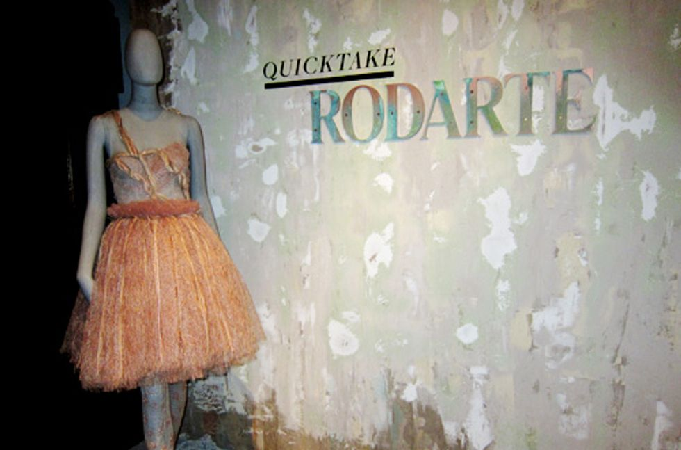 Peter Davis' Status Update: Rodarte, Fit for a Museum