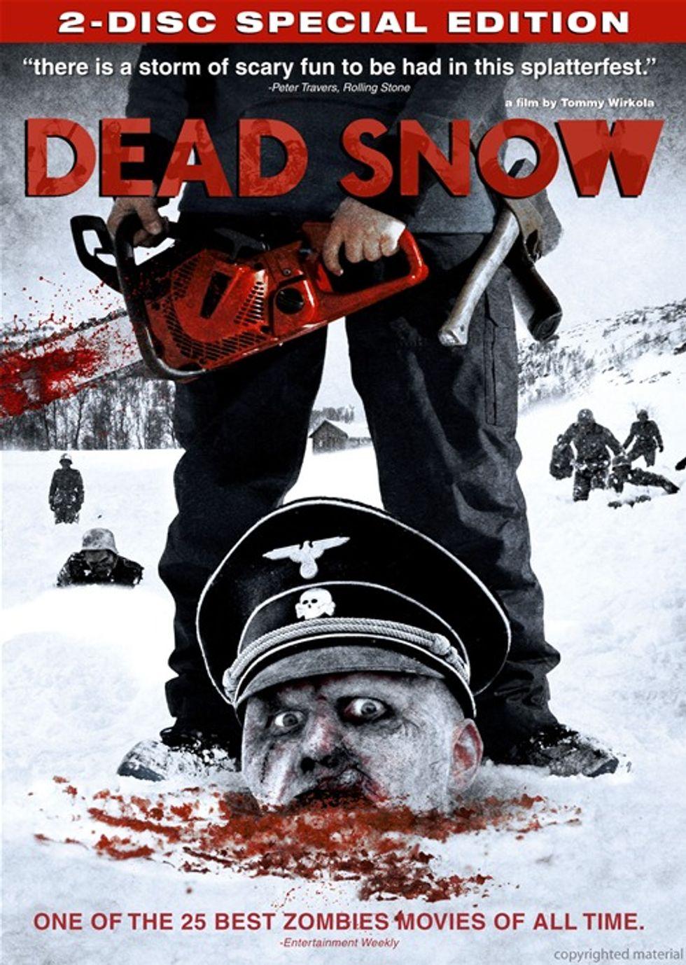 Intestine Chomping and Chainsaw Mayhem in Nazi Zombie Flick Dead Snow.