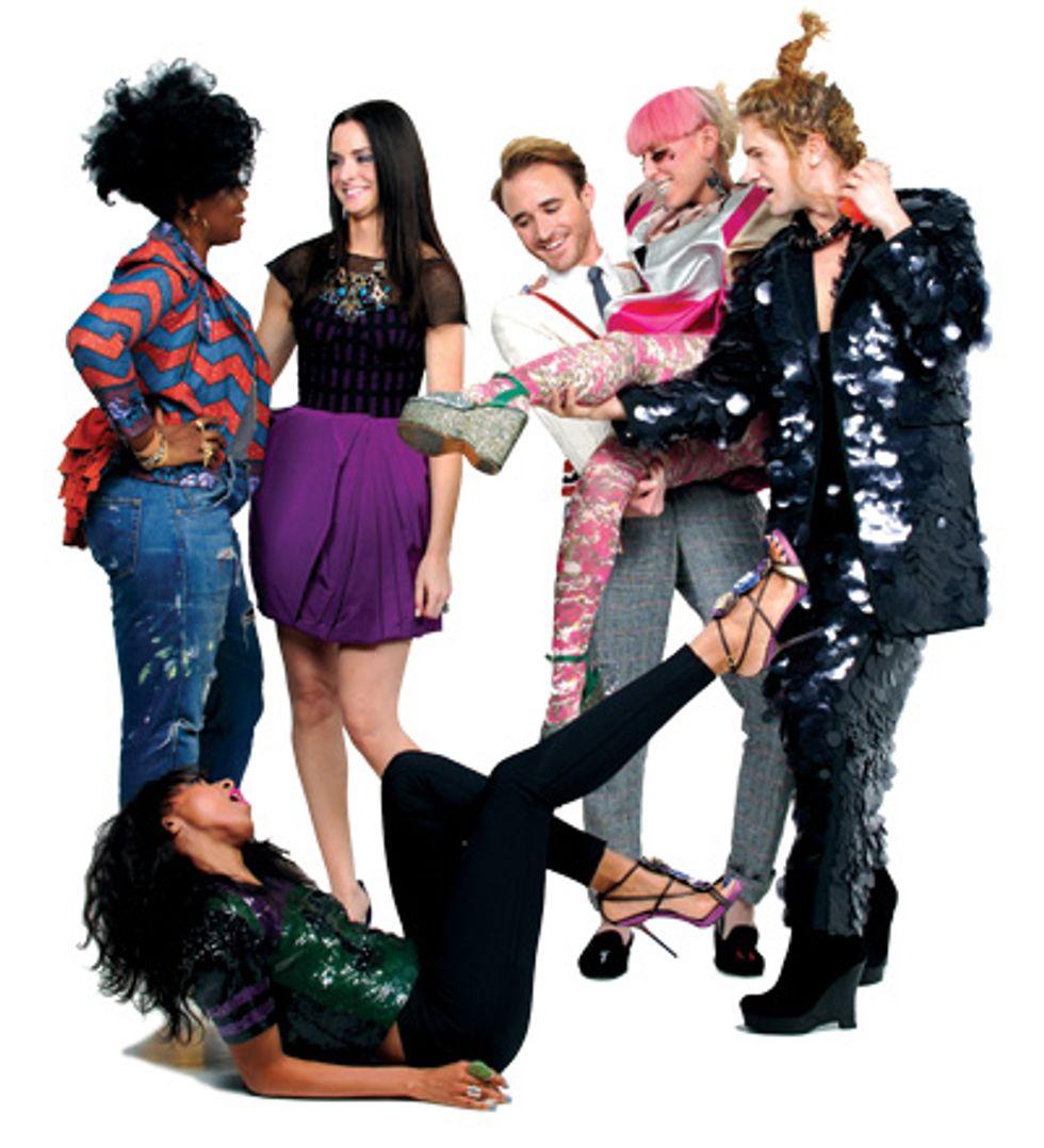 Samia, Karen, Annie, Andrew, Rachel, and Bradley Wear