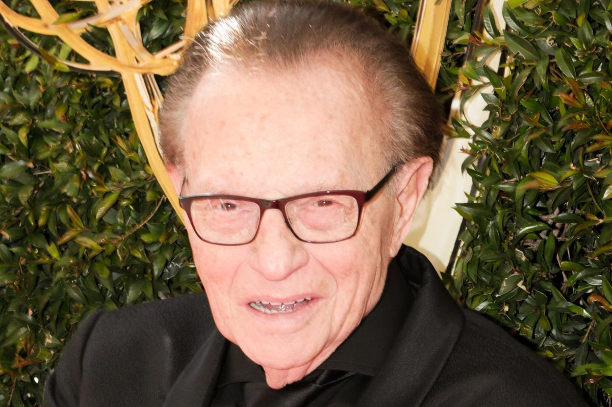 Larry King Reportedly Hospitalized With COVID