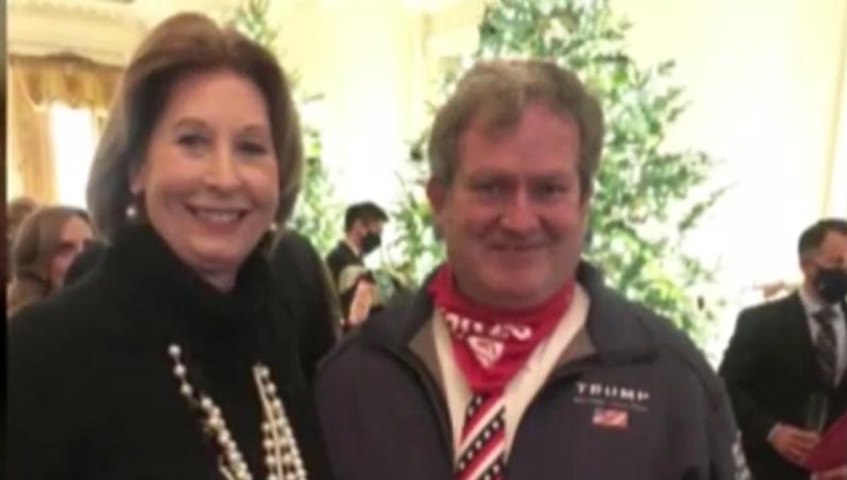 COVID-denying GOP head infects 4 family members after attending maskless White House party