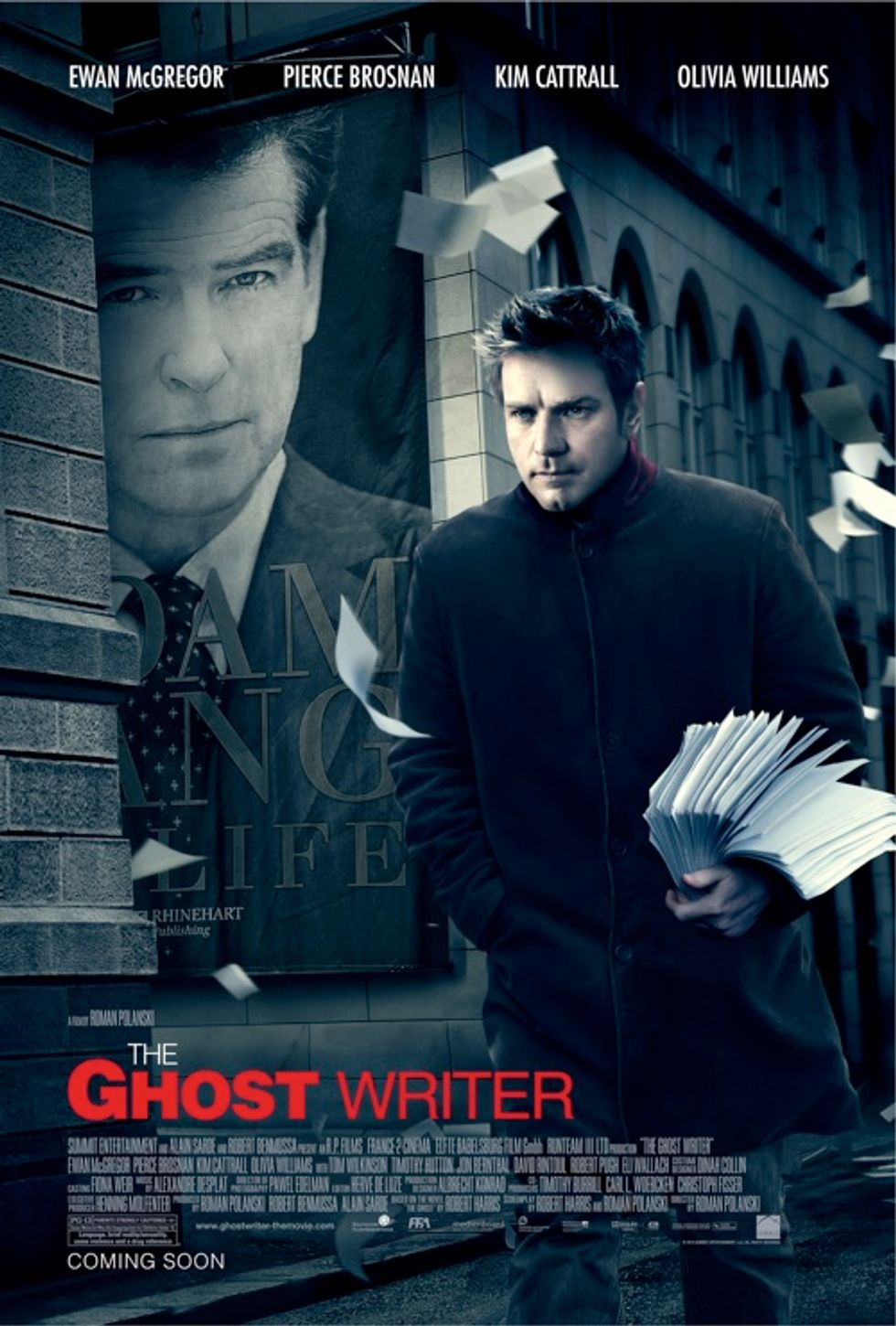 Rush Out And See Polanski's The Ghost Writer!