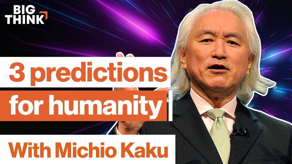 Michio Kaku: 3 mind-blowing predictions about the future