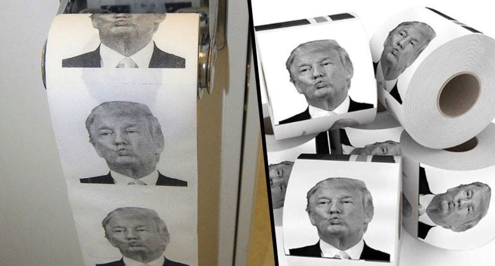 Donald Trump Toilet Paper On Sale So You Can Dump With Trump