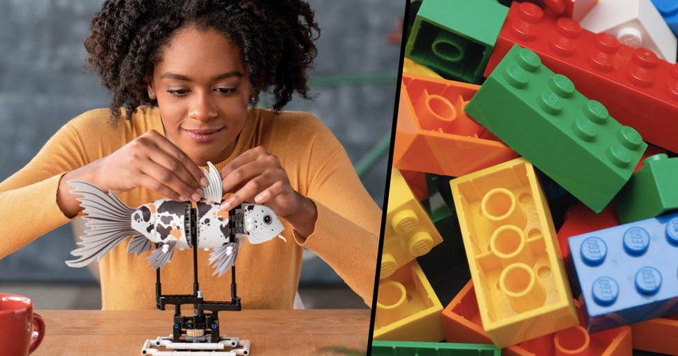 LEGO Release Building Set For Adults To Help Reduce Stress And Anxiety