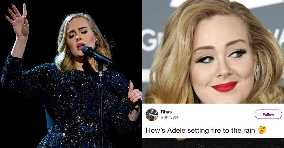Adele Never Set Fire to the Rain, and These Other Lyrics That Never Happened