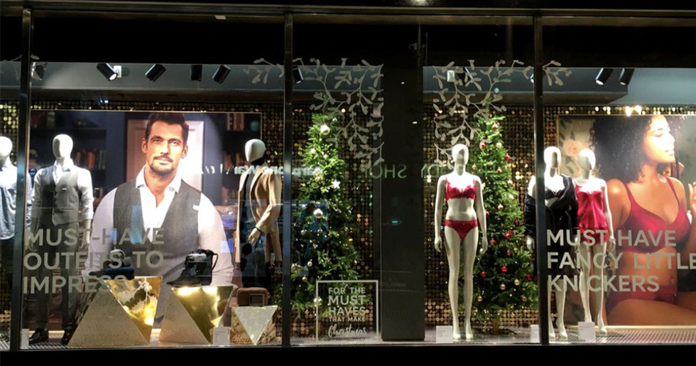 Retailer's Horribly Sexist Window Display Has Holiday Shoppers Furious