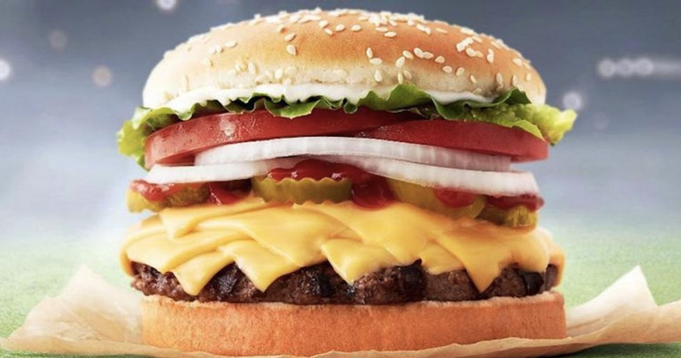 New Burger King Whopper Has 8 Slices Of Cheese