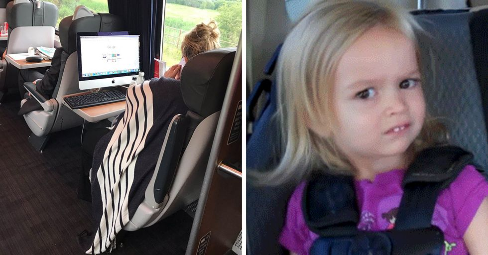 These Tweets Capture the Sheer Absurdity of What You See on Public Transportation