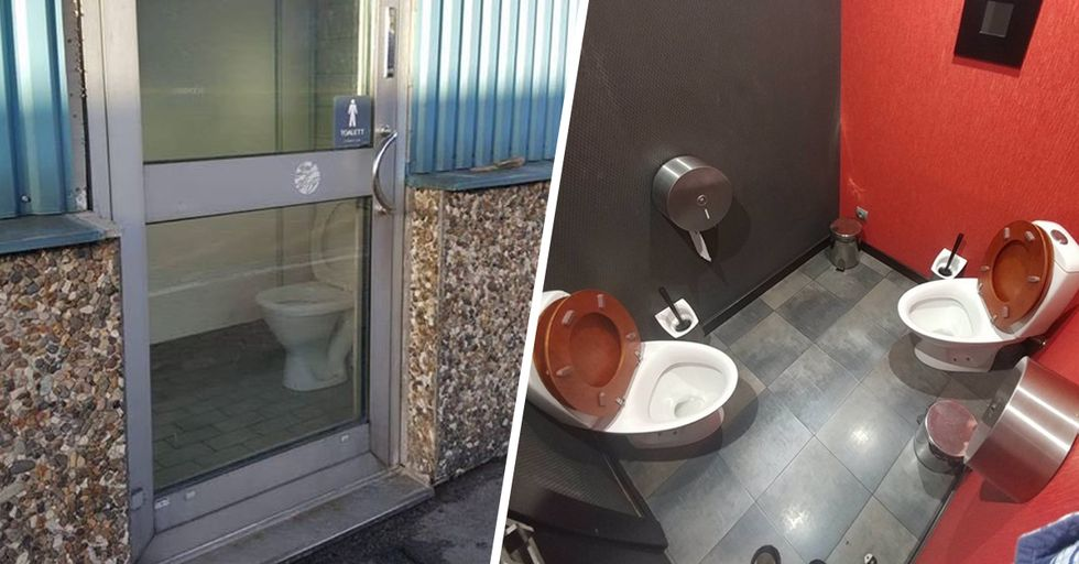 These Are the World's Weirdest Toilets