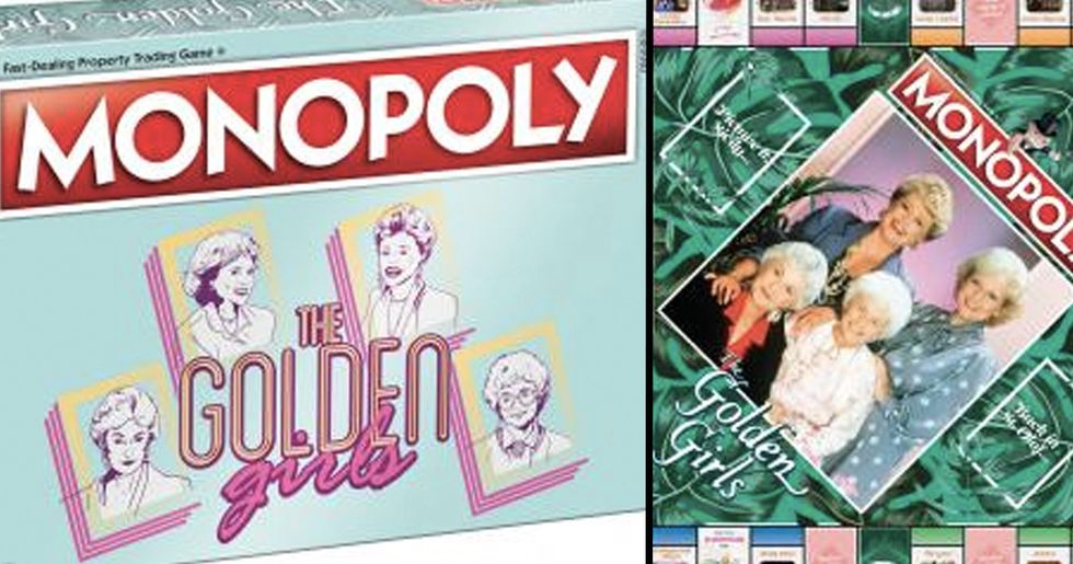Golden Girls Monopoly Is The Perfect Gift For Your Best Friend