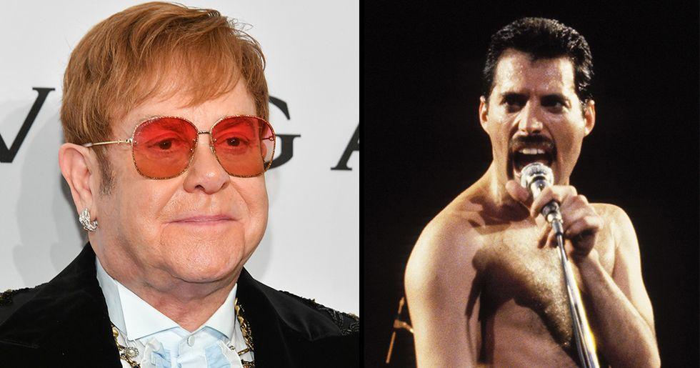 Freddie Mercury Gave Elton John an Amazing Present Just Days Before He Died