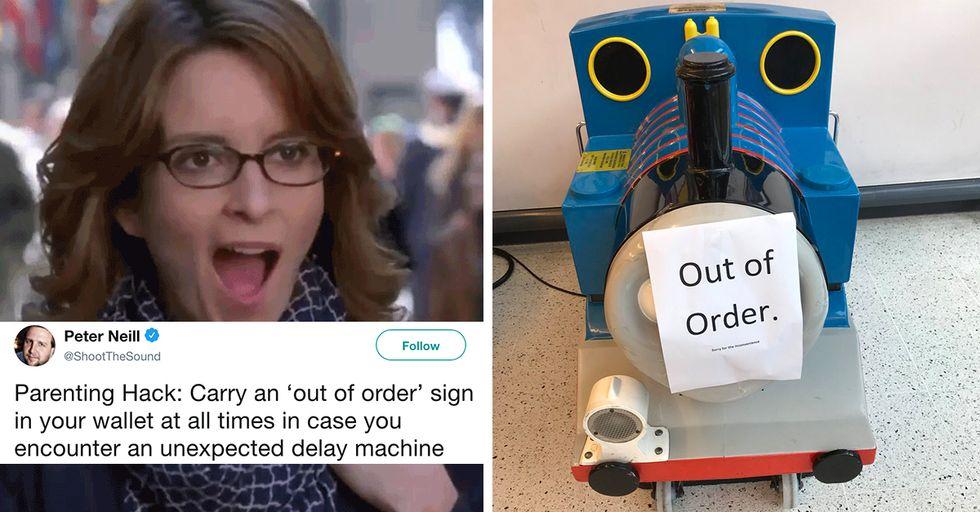 Hilarious Parenting Hacks to Make Your Crazy Life a Smidgen Easier