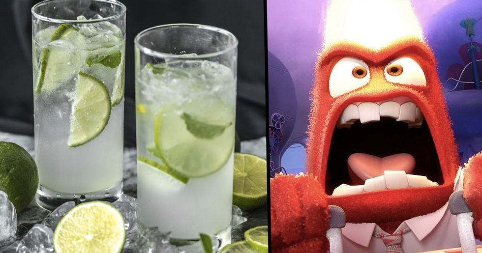 People Who Love to Drink Gin Are More Aggressive