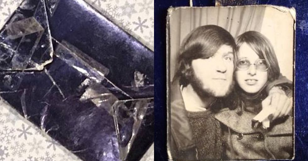 Man Opens Mysterious Christmas Gift From 1970 and It Doesn't Disappoint