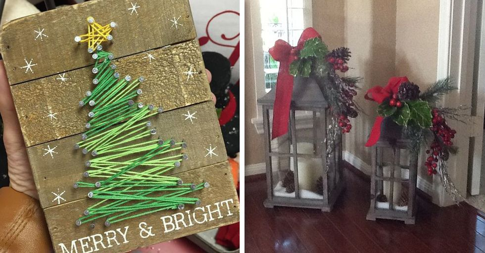Easy DIY Holiday Projects That Will Make It Look Like You Actually Have Your Life Together