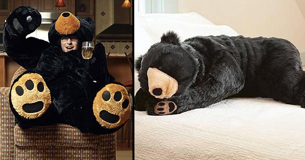 Giant Teddy Bear Sleeping Bags Now Exist