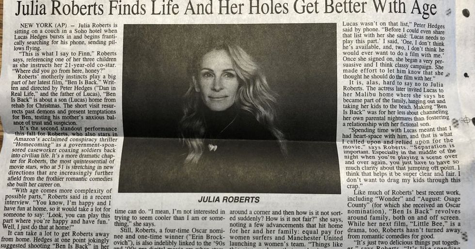 This Accidental NSFW Headline About Julia Roberts Is Hilarious
