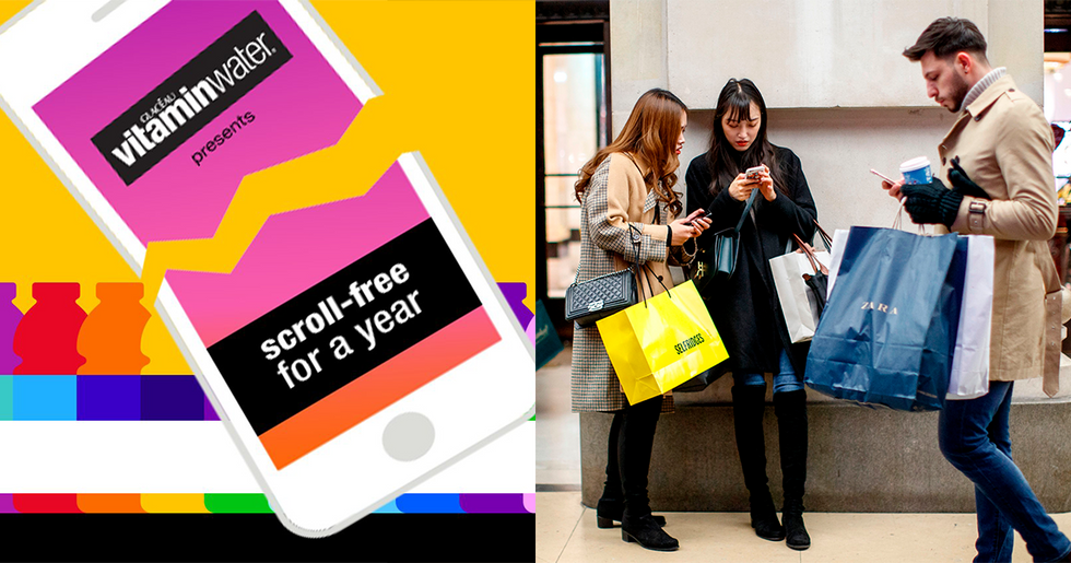 Vitaminwater Will Pay You $100,000 to Give up Your Phone for 1 Year