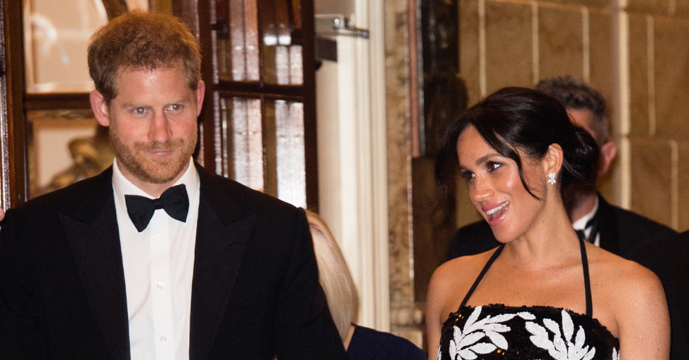 Prince Harry and Meghan Markle's Christmas Card Looks Eerily Like Something From Her Past