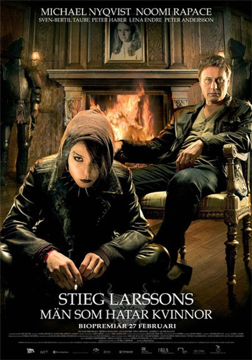 The Girl With The Dragon Tattoo Opens!