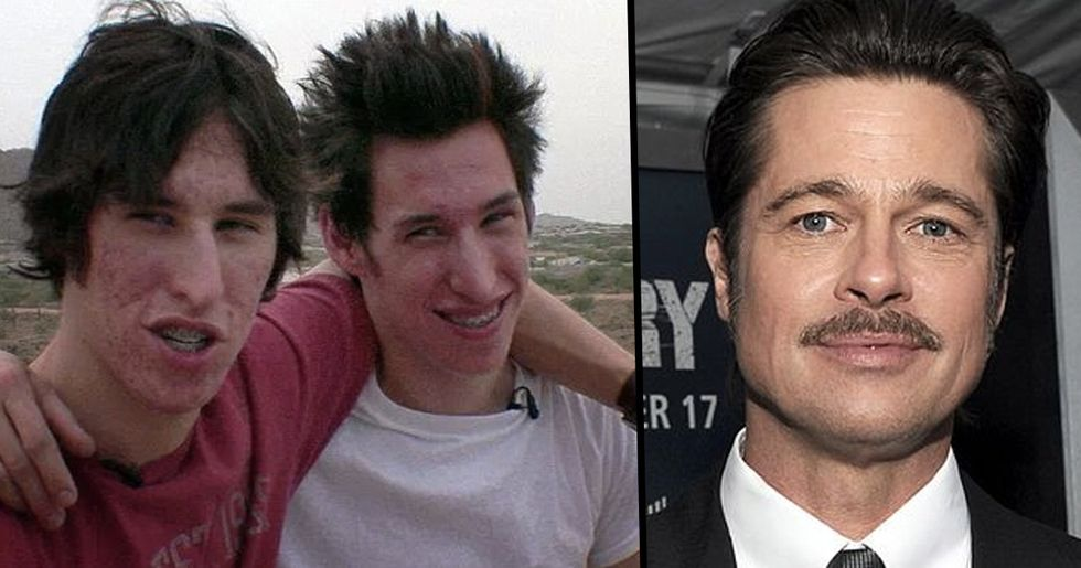 These Twins Spent $19,000 to Look Like Brad Pitt