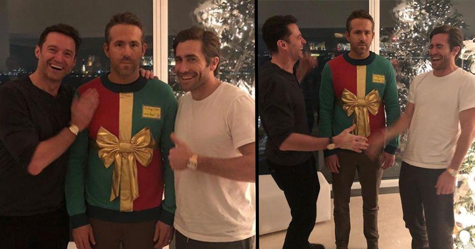 Ryan Reynolds Hilariously Trolled By Jake Gyllenhaal And Hugh Jackman