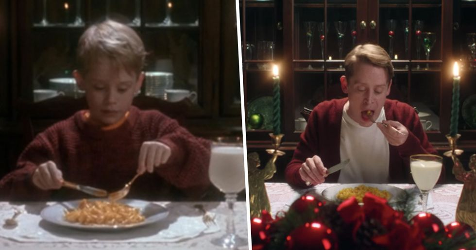 Macaulay Culkin Perfectly Recreated Scenes From 'Home Alone'