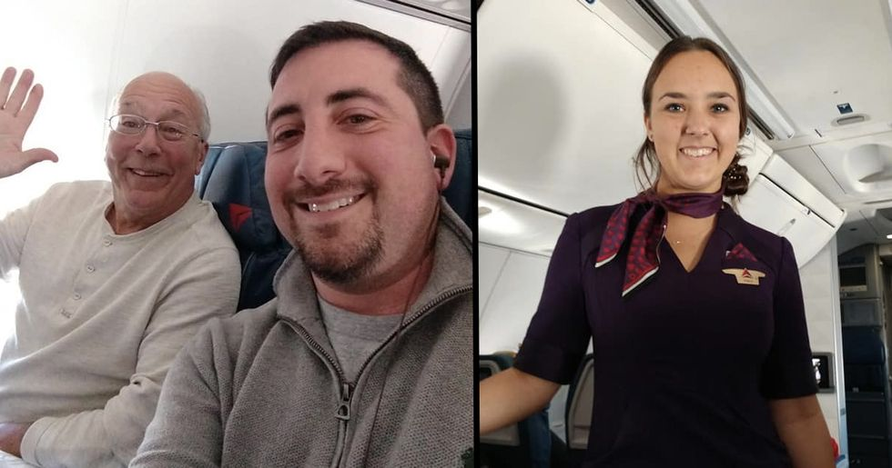 Dad Flew 6 Flights So He Could Spend Christmas Day With Airline Stewardess Daughter