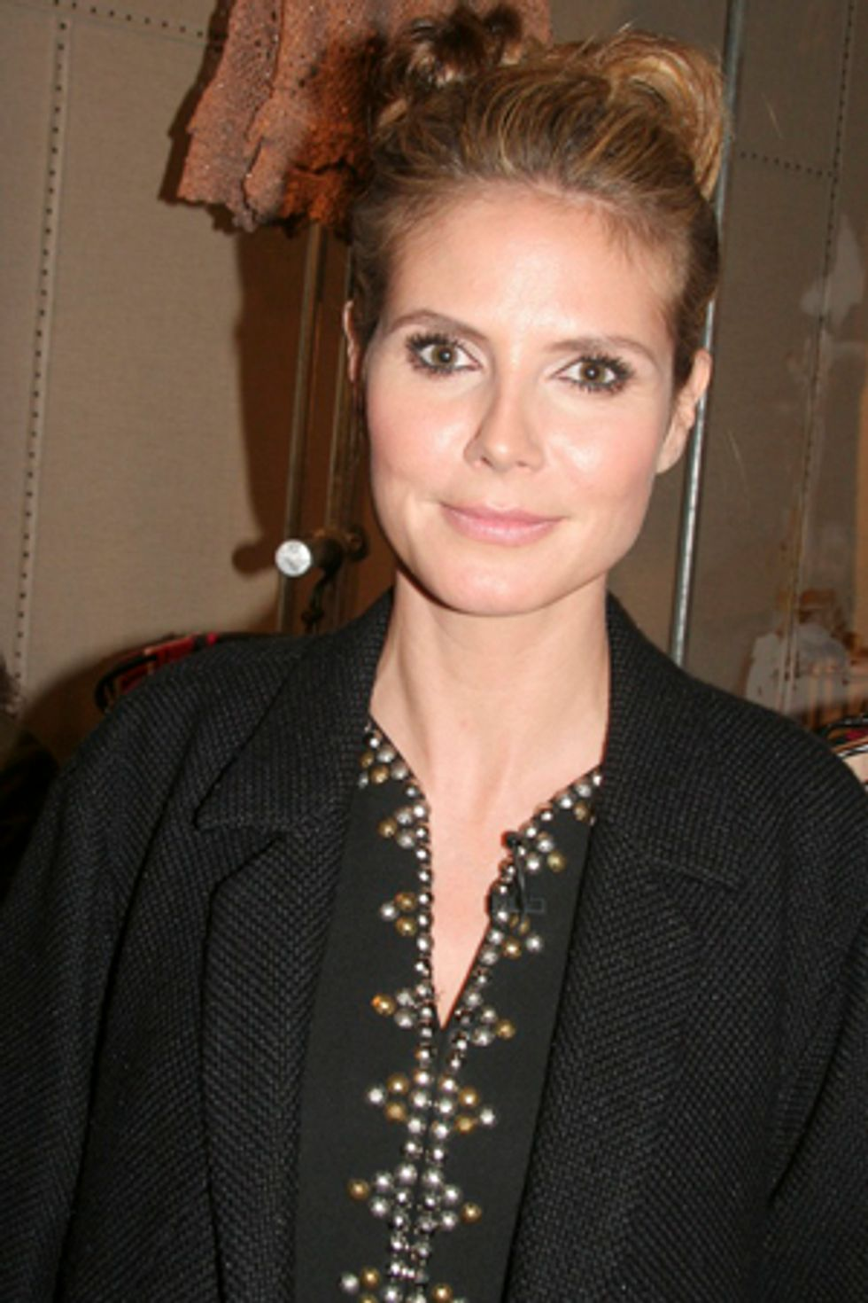 Chit-Chatting With Heidi Klum, Kelly Osbourne and Kate Mara at the Odd Molly Opening