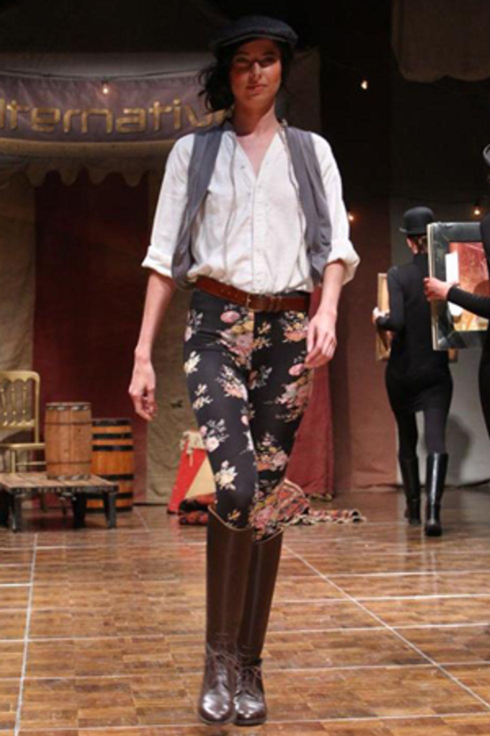 L.A. Fashion Week Report: Alternative Apparel Goes Farm Boy Chic