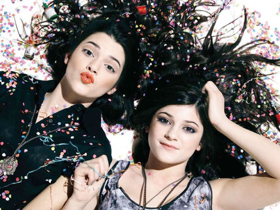 Beautiful People 2010: Kendall & Kylie Jenner