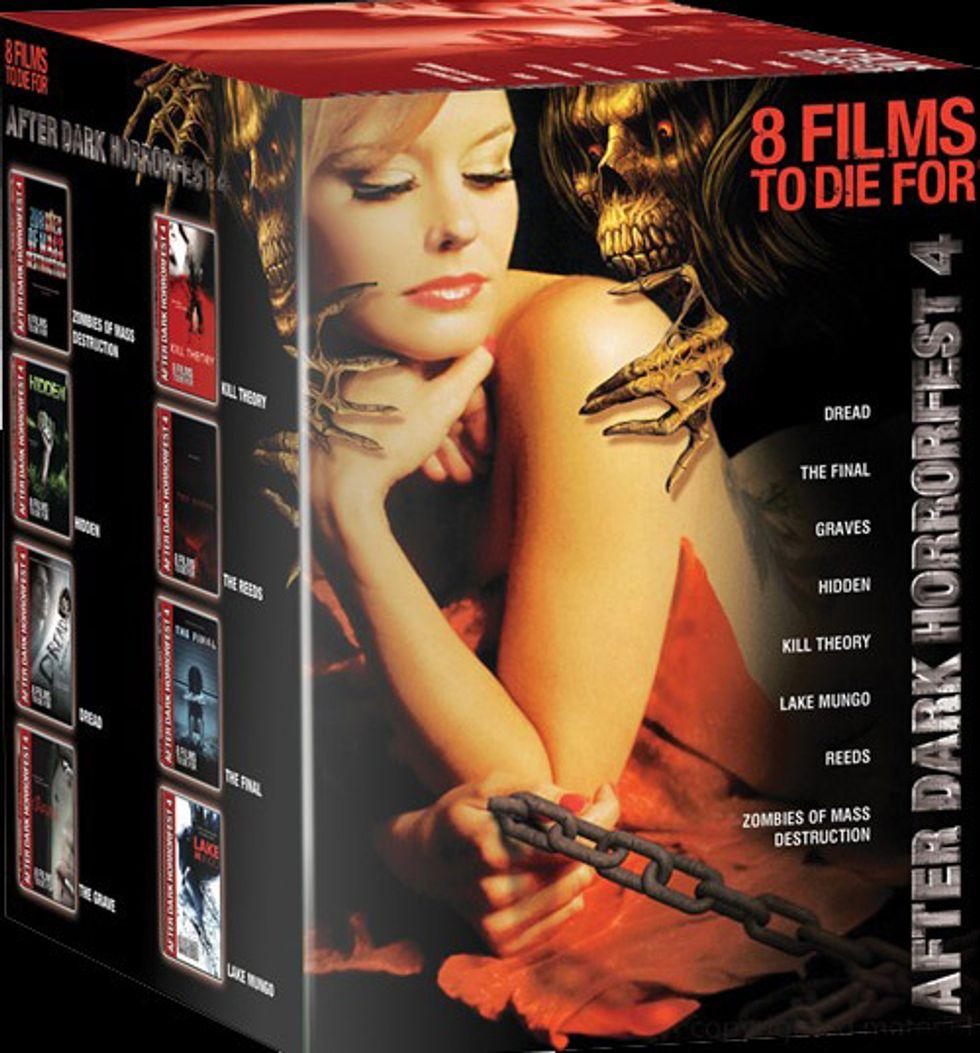 After Dark Horror Fest 4 On DVD!