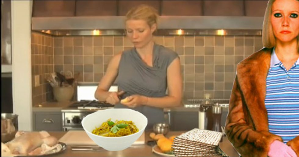 Gwyneth Paltrow Supports Kosher Passover Recipes, Why Don't You?