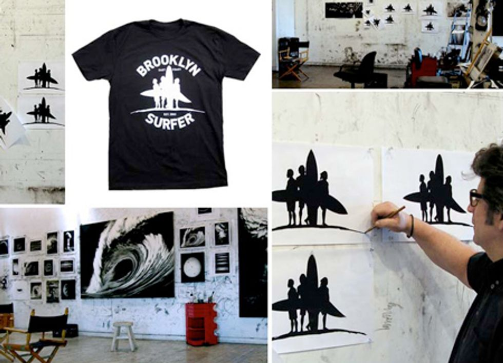 Surf Wax NYC: Robert Longo for Brooklyn Surfer