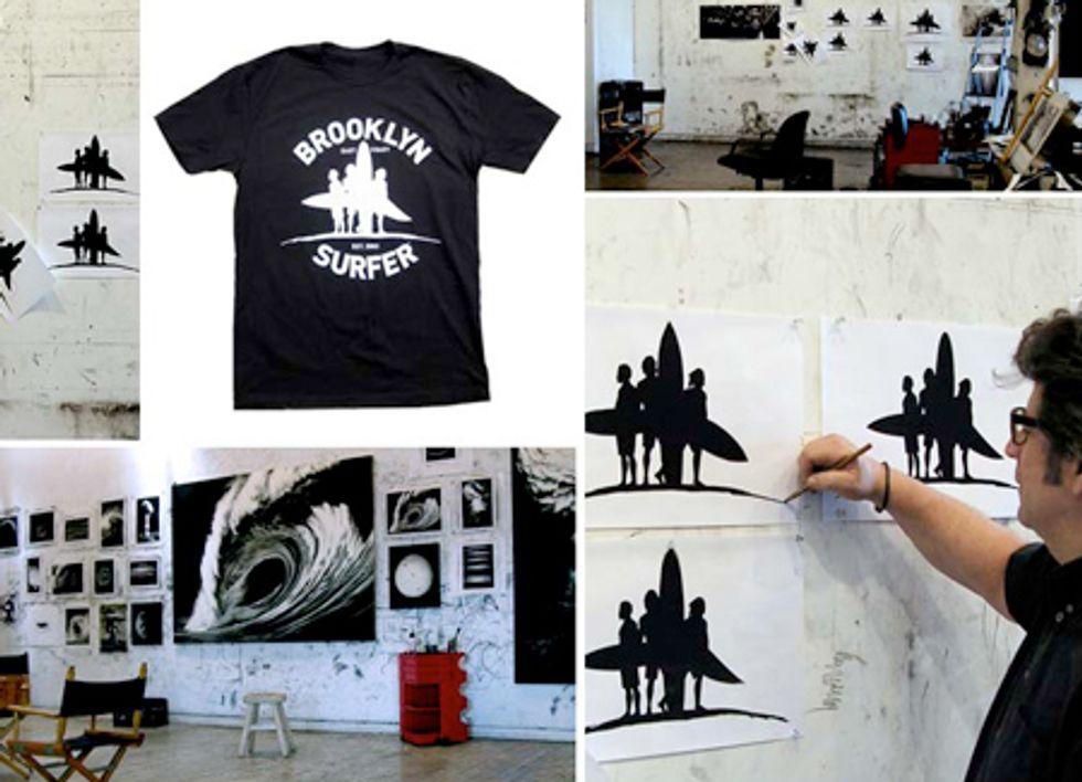 Surf Wax NYC: Robert Longo for Brooklyn Surfer
