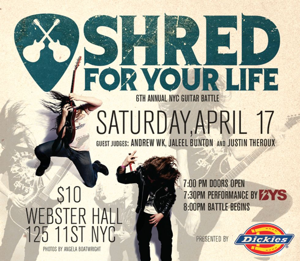 Shred For Your Life Returns April 17th!