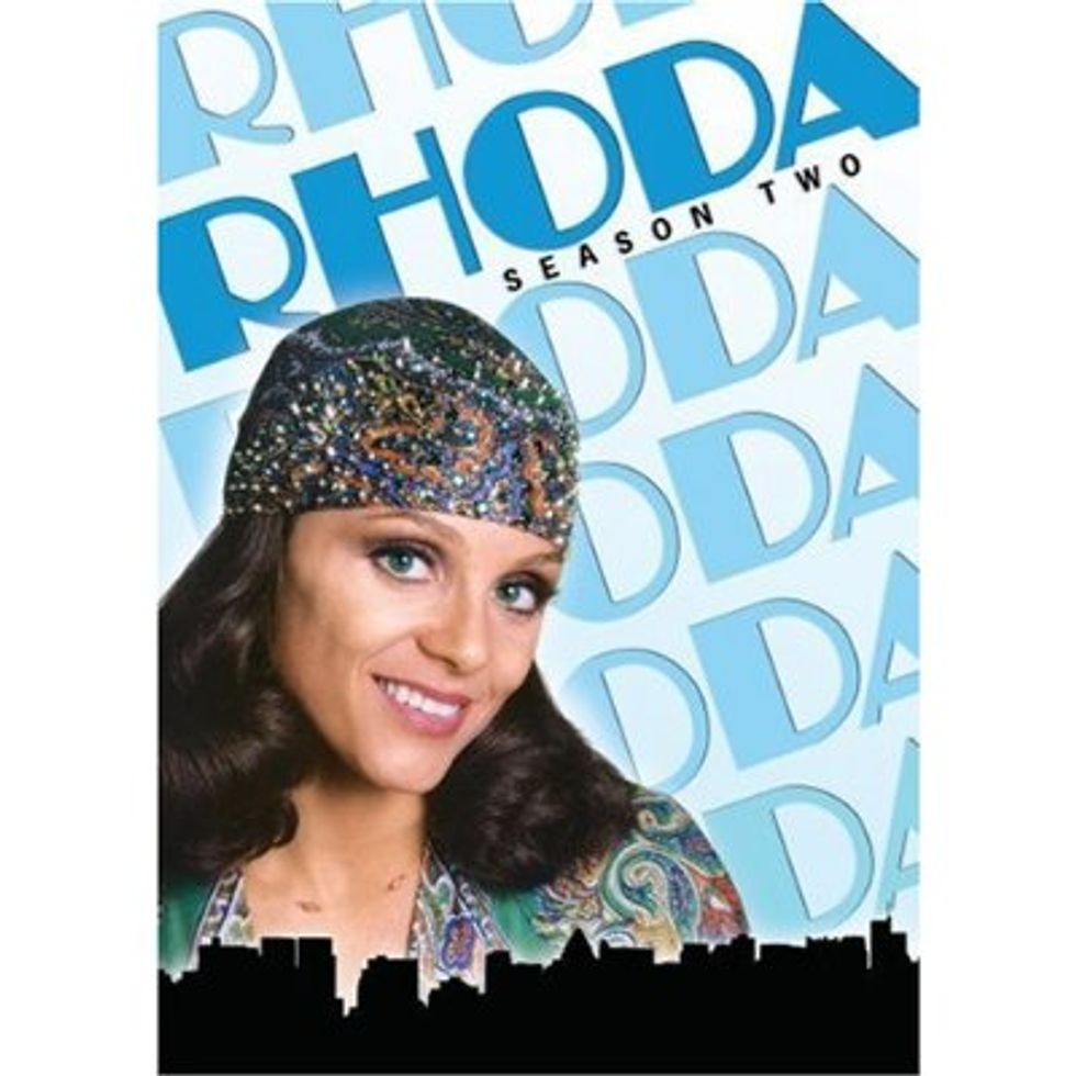 Long Live Head Scarves! Rhoda: Season Two Out On DVD.