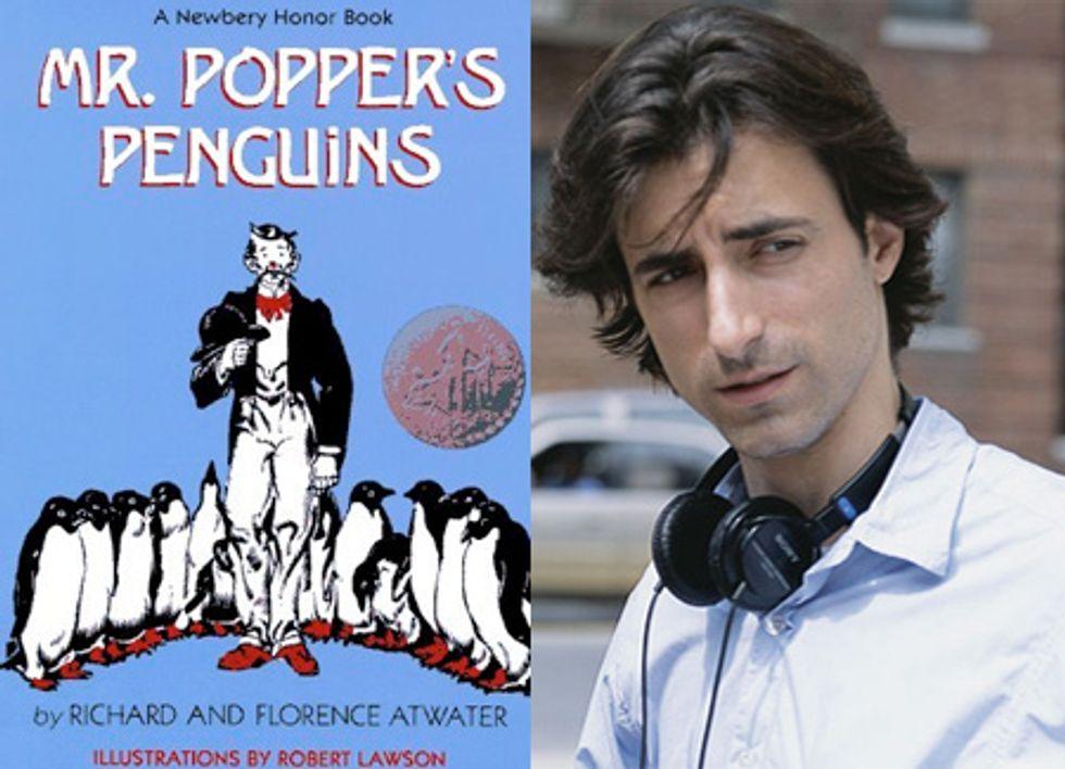 Noah Baumbach and Ben Stiller Do Mr. Popper's Penguins?