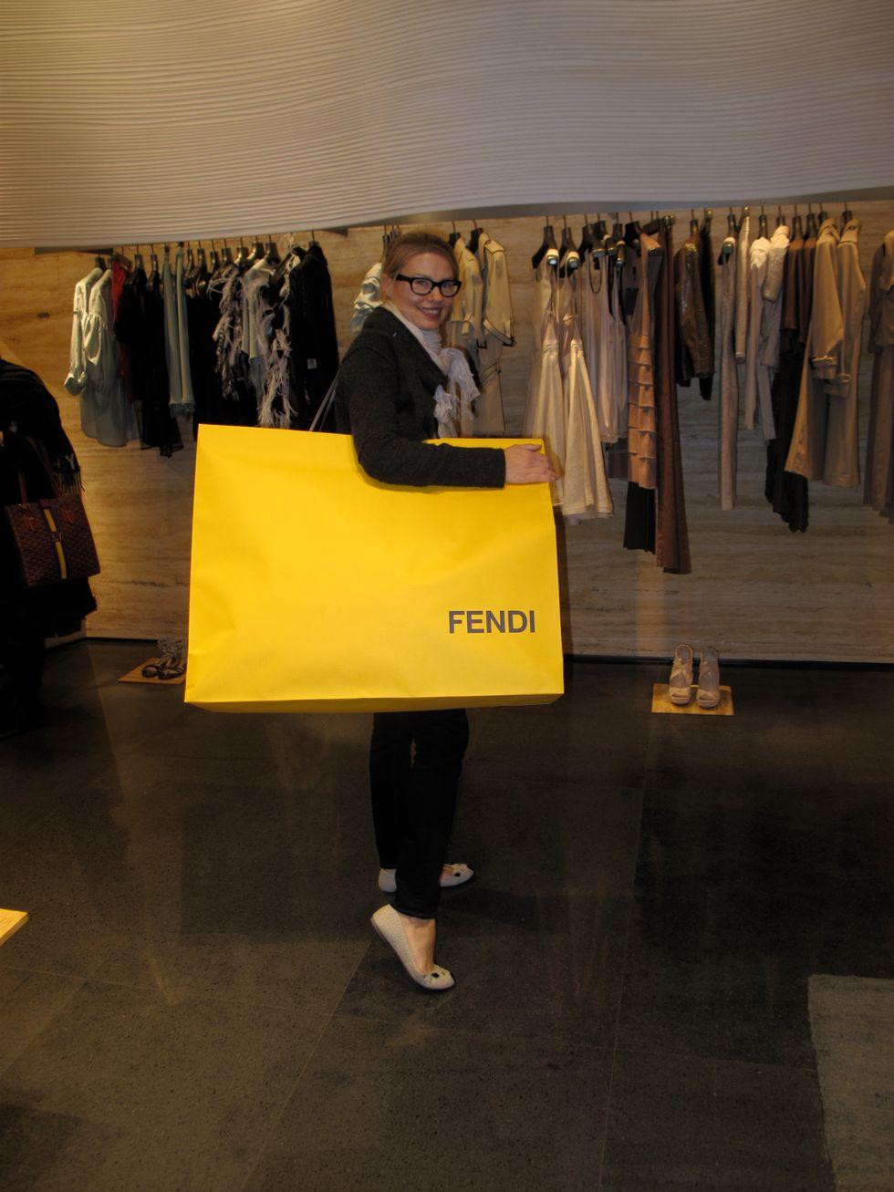 Big Shopping at Fendi!