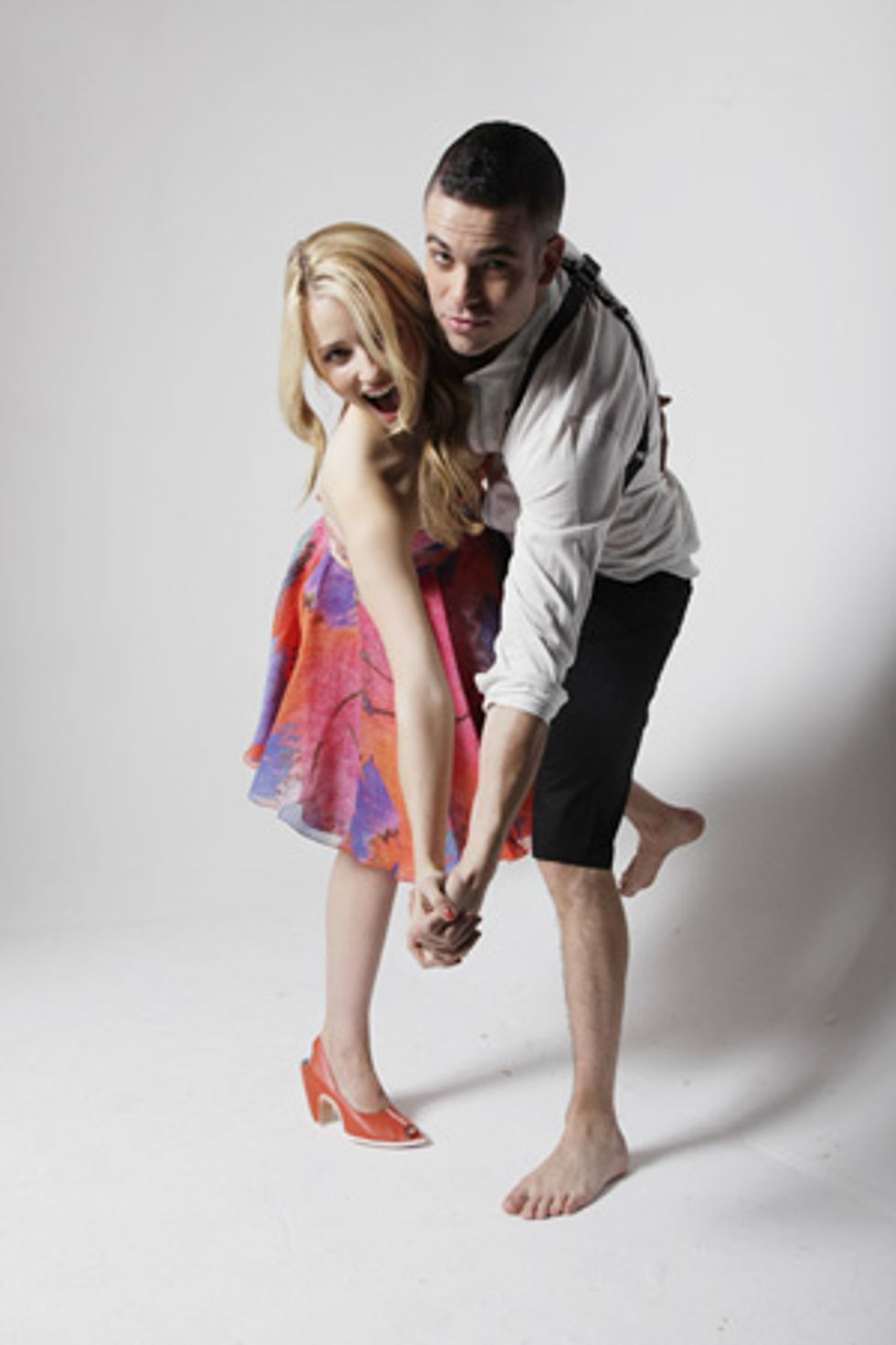 Extra Extra! More With Glee's Dianna Agron and Mark Salling
