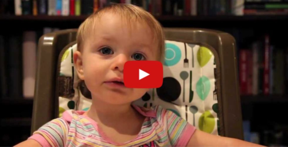 Dad Interrogates His Baby Girl About Who Her Favorite Parent Is