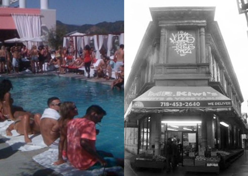 Eight Items or Less: No Pool For You at the W Hotel & R.I.P Market Hotel?