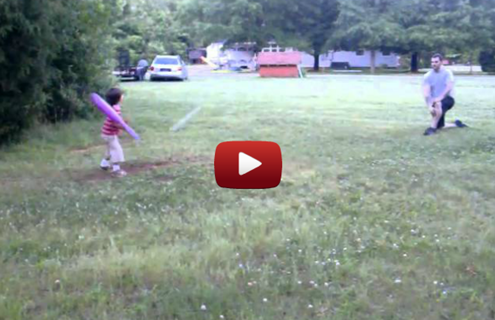 Little Kid Demonstrates The Shortest Attention Span Possible