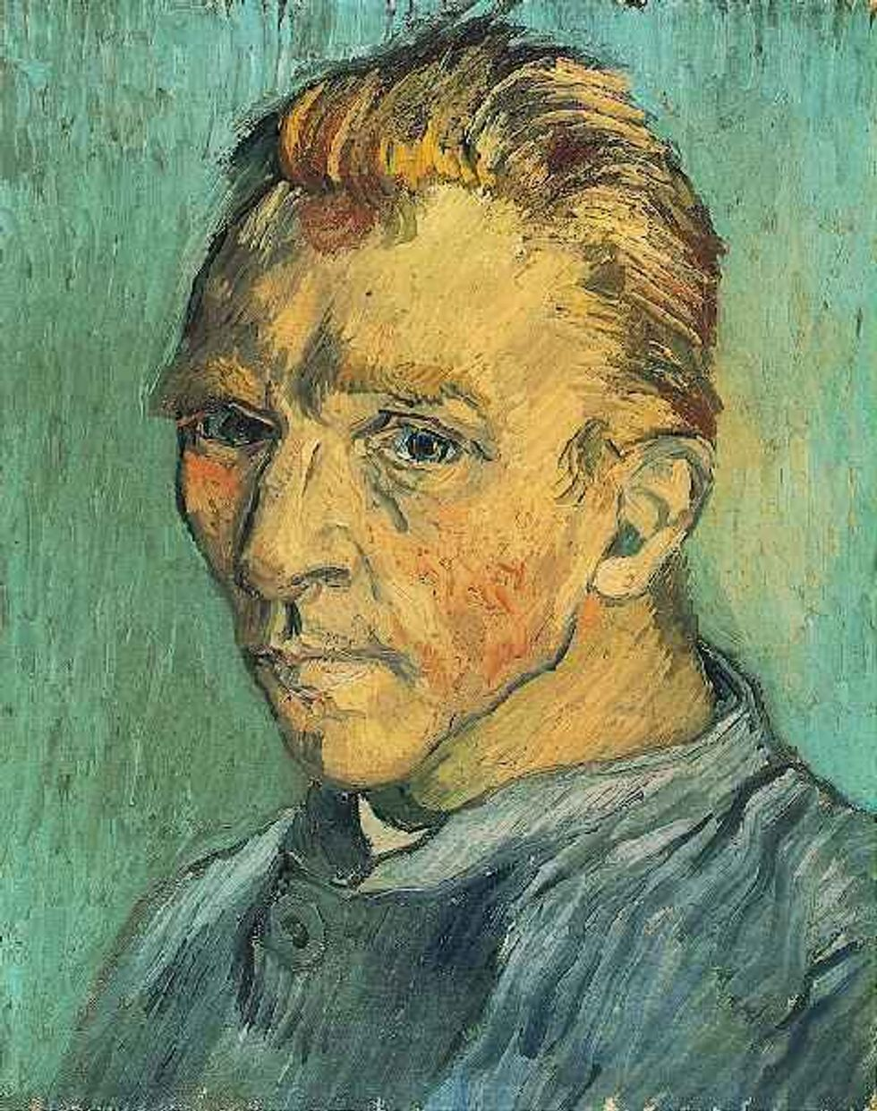 All of Vincent Van Gogh's self-portraits [38 pictures]